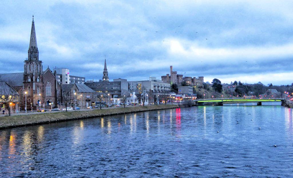 Ruta por Escocia en coche: Inverness