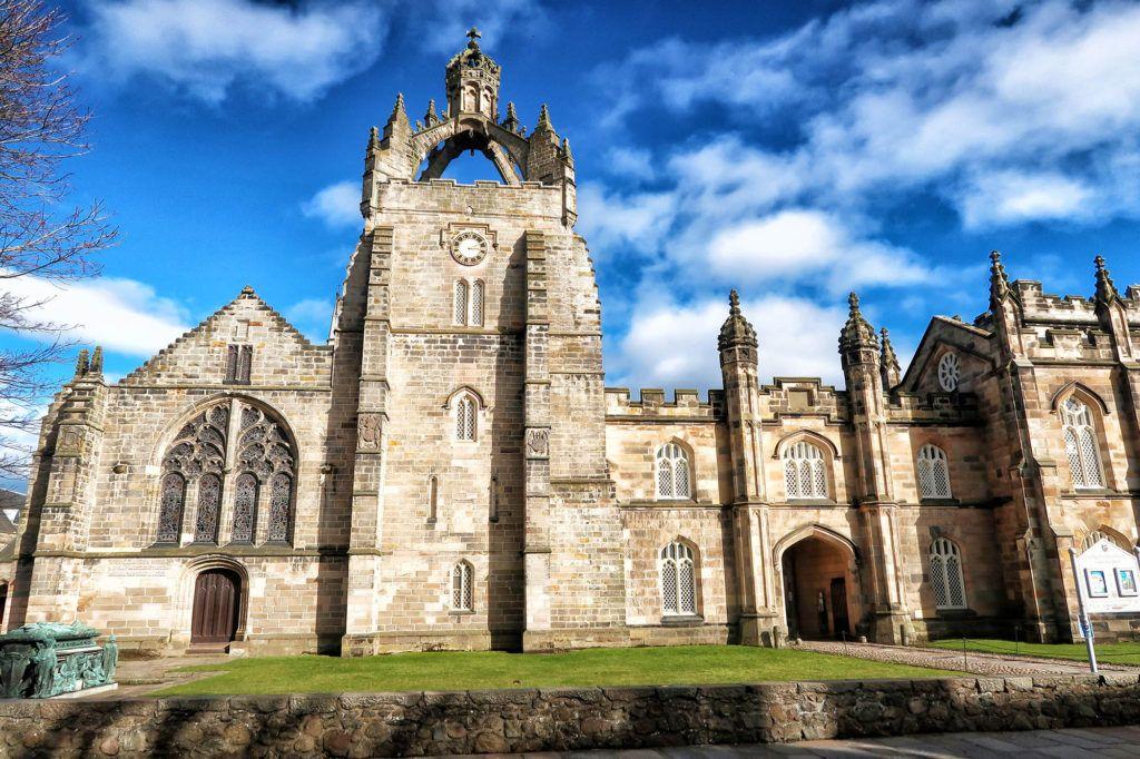 Ruta por Escocia en coche: King's College