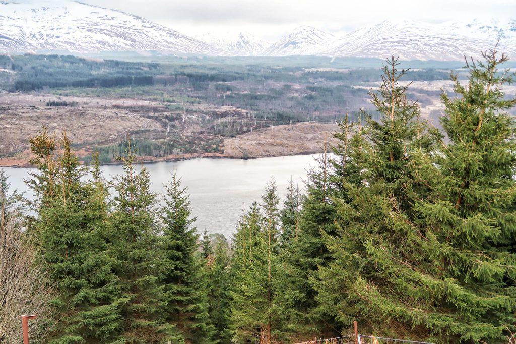 Un día en el Lago Ness: Loch Garry