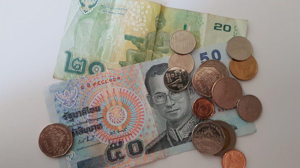 Moneda en Tailandia