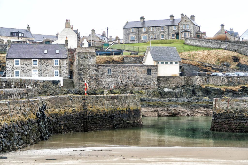 Ruta por Escocia en coche: Portsoy