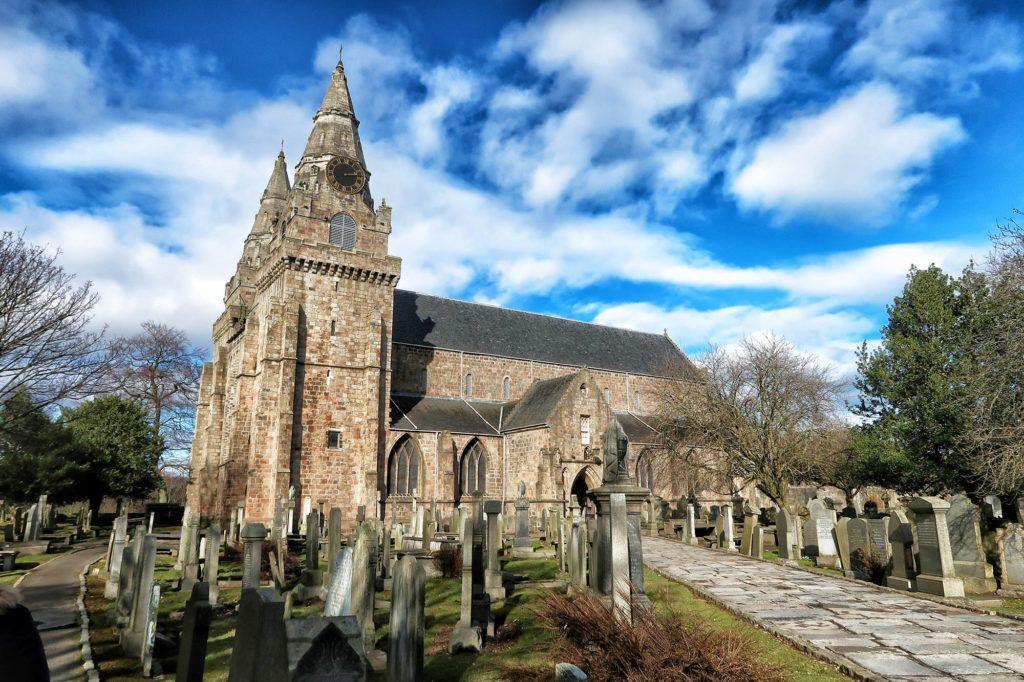 Ruta por Escocia en coche: Catedral de Saint Machar