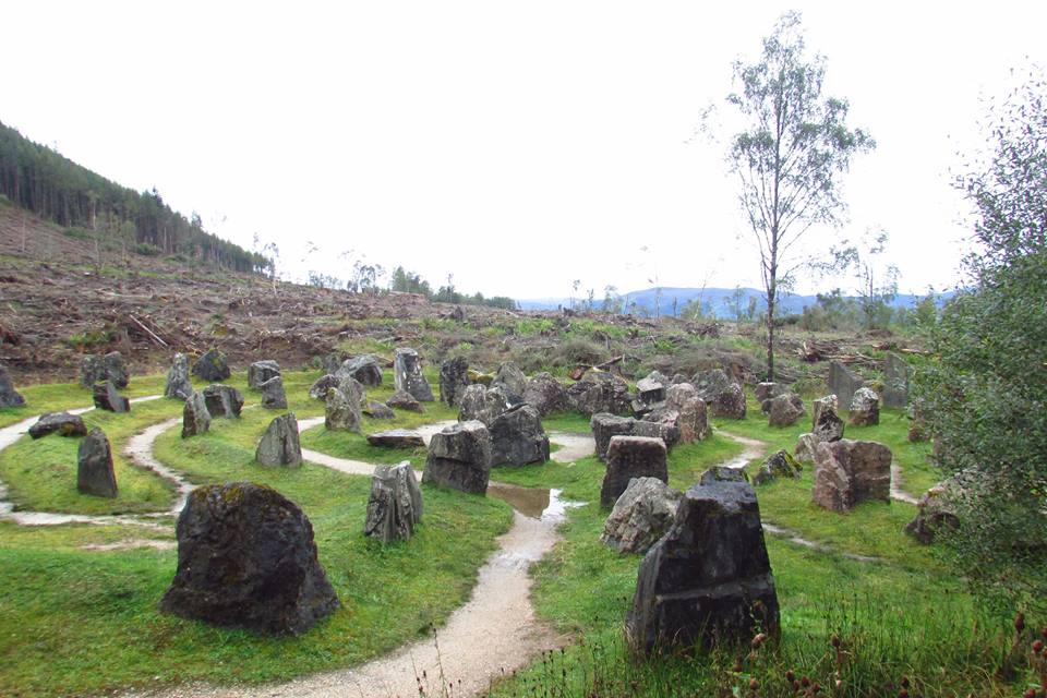Ruta por Escocia en coche: Touchstone Maze