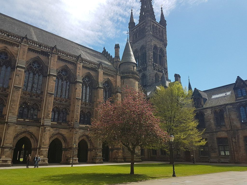 Qué ver en Glasgow: University of Glasgow