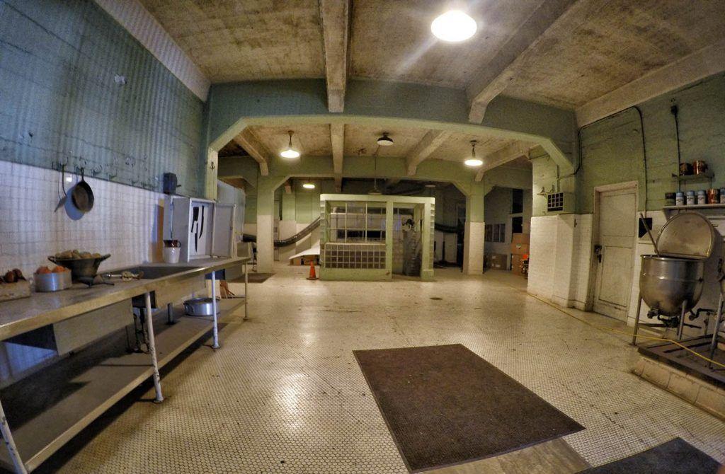 Visitar Alcatraz: las cocinas
