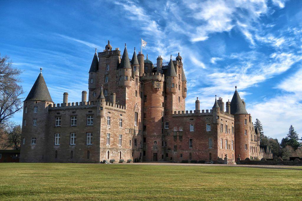 Ruta por Escocia en coche: Glamis Castle