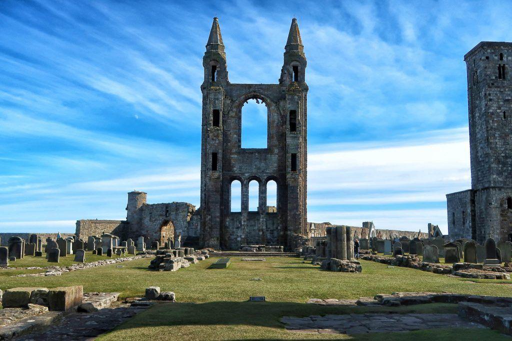 Ruta por Escocia en coche: Saint Andrews Cathedral