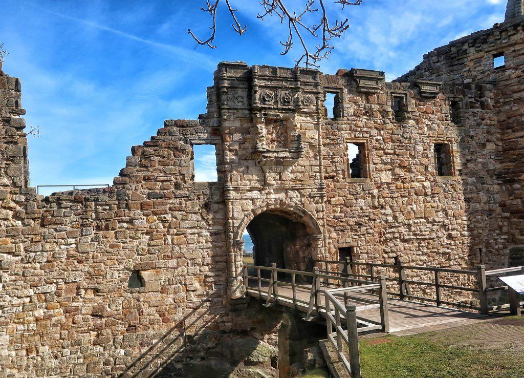 Ruta por Escocia en coche: Saint Andrews Castle