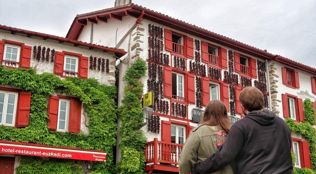 Bayona - Pau: Espelette