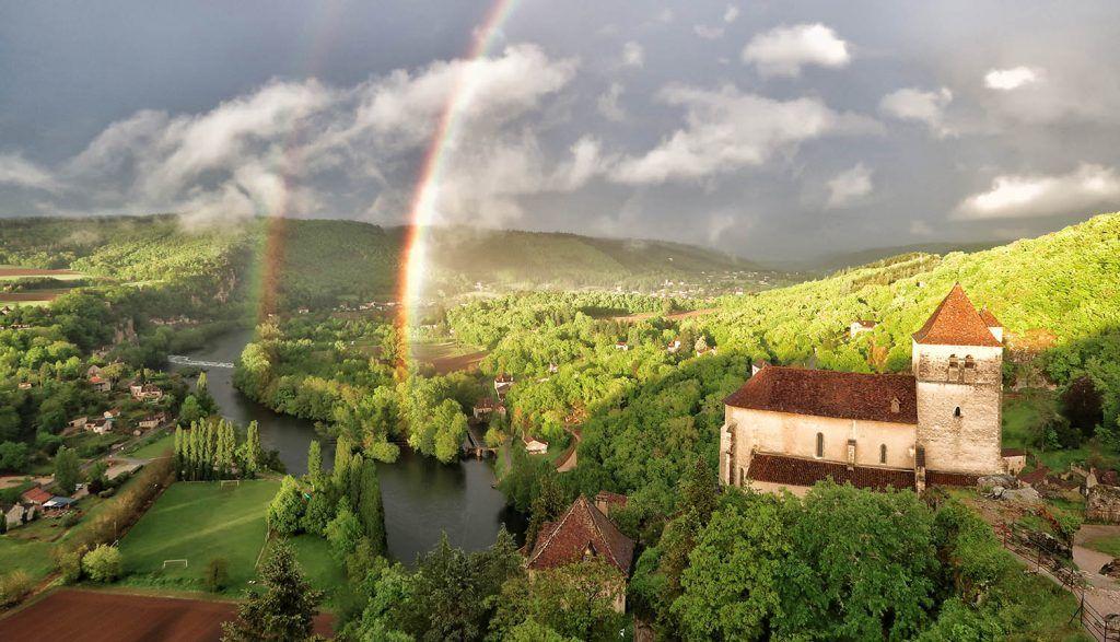 Ruta por el sur de Francia: Saint Cirq Lapopie