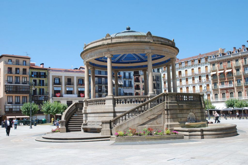 Qué ver en Pamplona: Kiosko Plaza Castillo