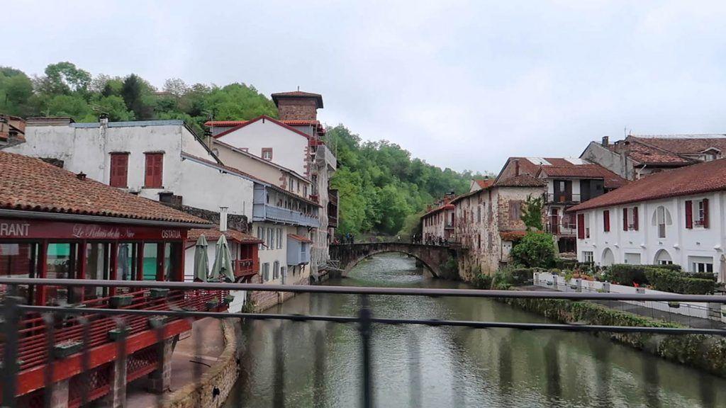 Bayona - Pau: Puente de Saint Jean Pied de Port