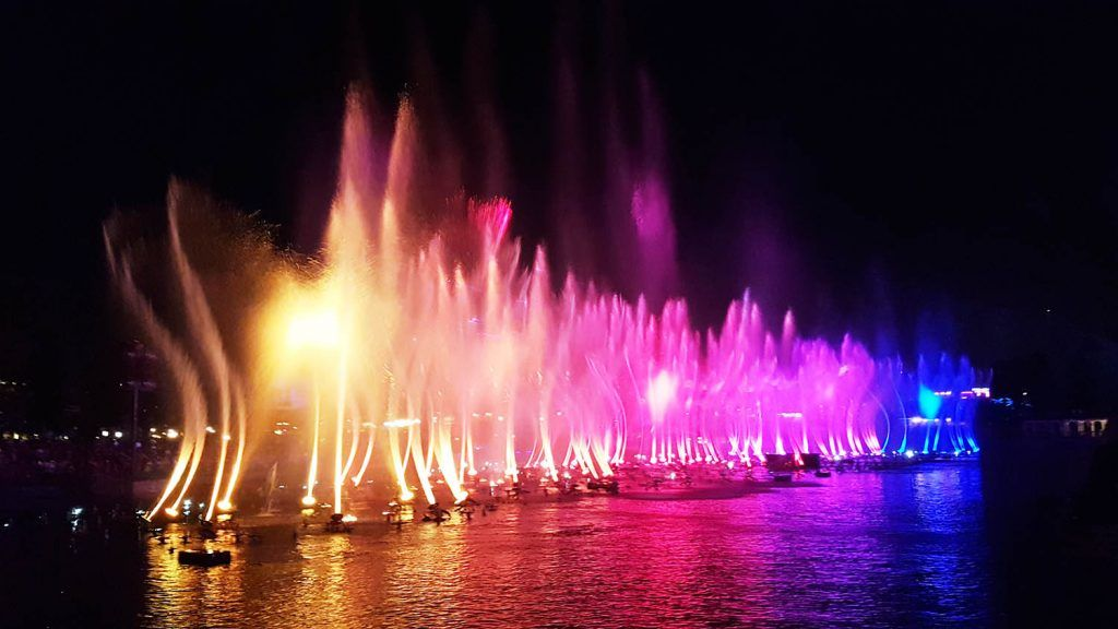 World of Colors en Disney California Adventure