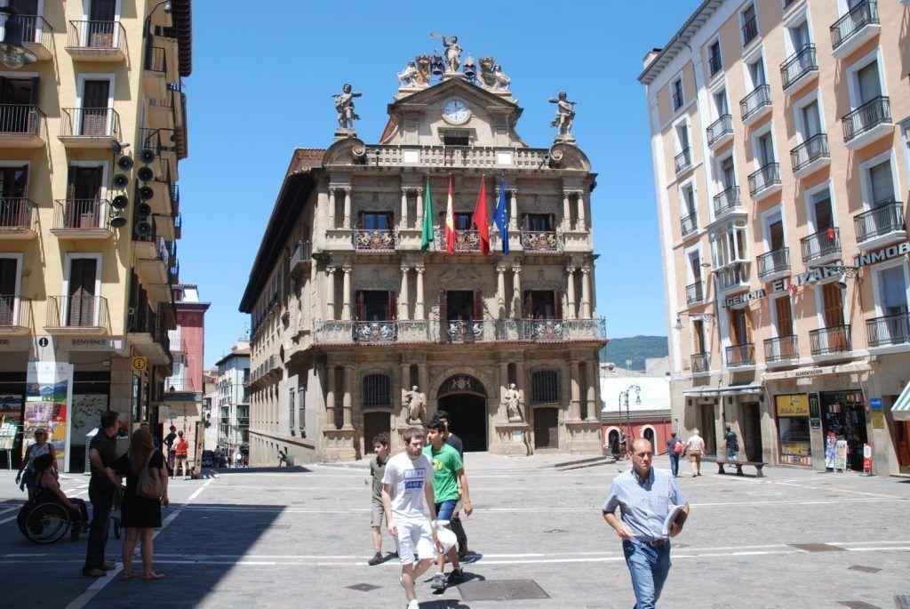 Qué ver en Pamplona: Ayuntamiento de Pamplona