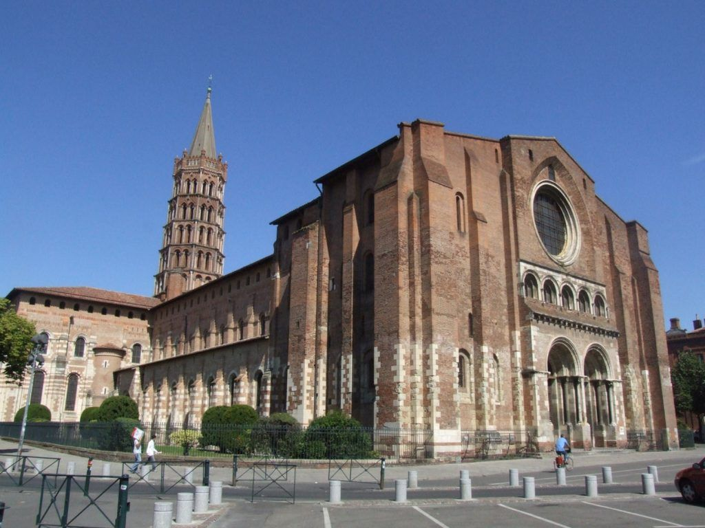 Qué ver en Toulouse: Basílica de Saint-Sernin