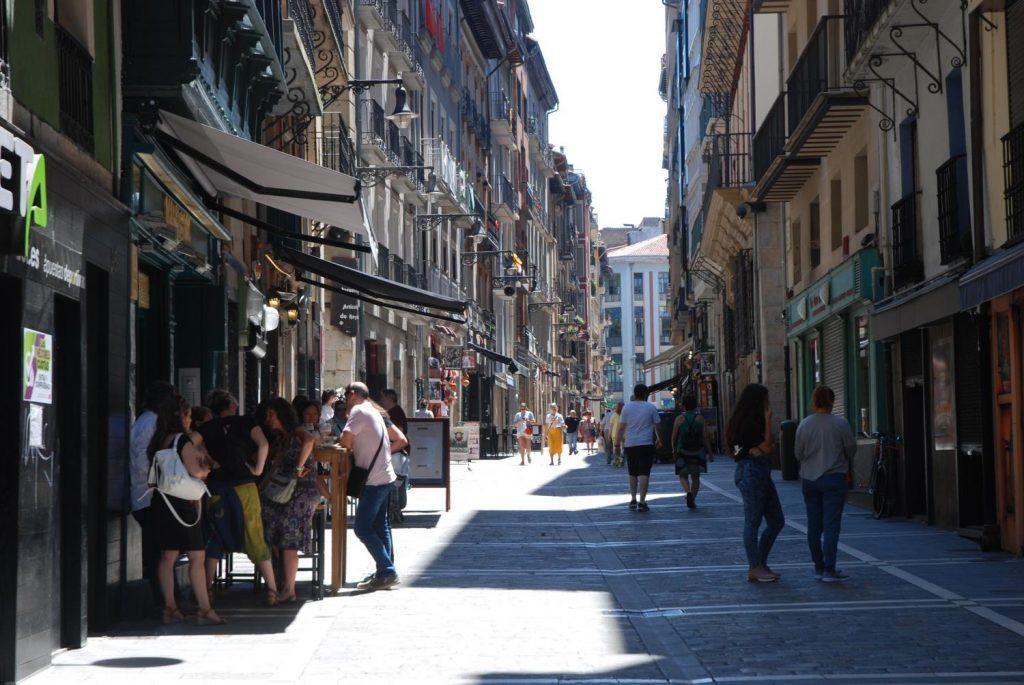 Qué ver en Pamplona: Calle Zapateria