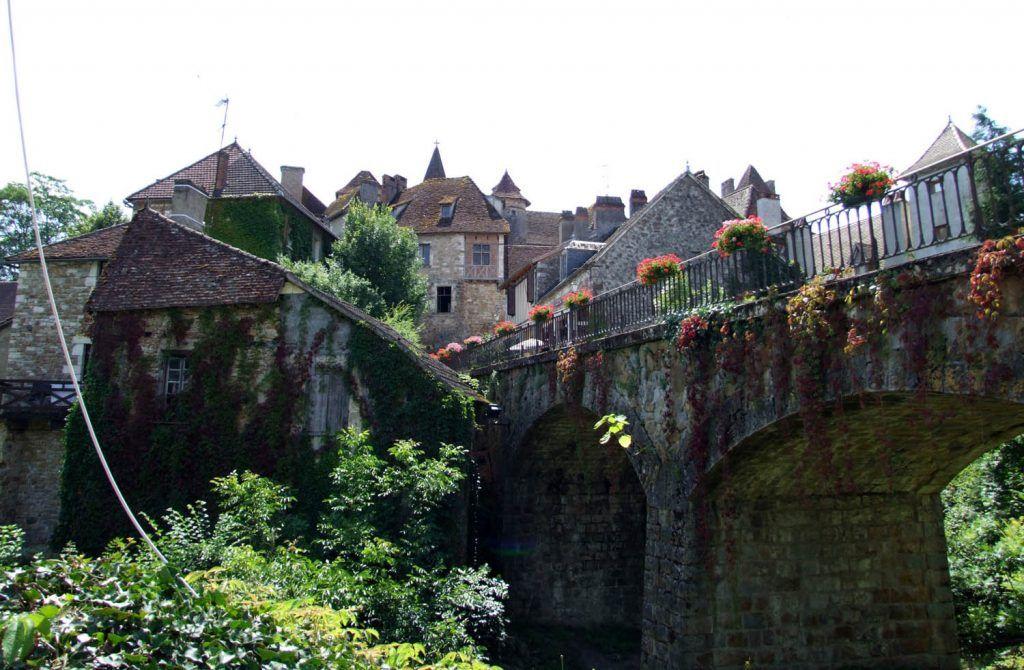 Saint Cirq Lapopie - Figeac: Carennac