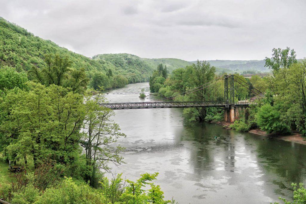 Cahors - Saint Cirq Lapopie: Puente de Castelfranc