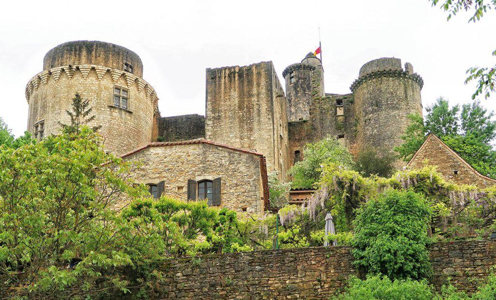 Cahors - Saint Cirq Lapopie: Chateau de Bonaguil