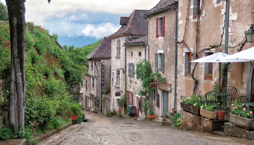 Cahors - Saint Cirq Lapopie: Saint Cirq Lapopie