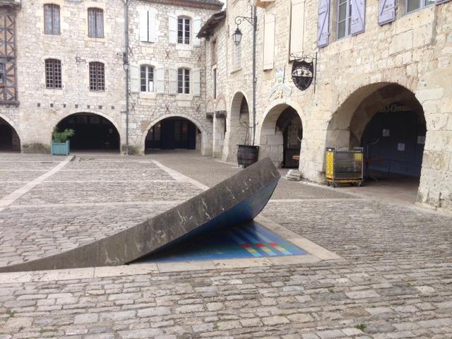 Ruta Toulouse - Cahors: Plaza de Lauzerte