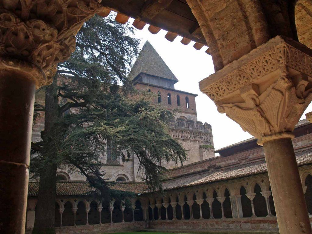 Ruta Toulouse - Cahors: Abadía de St-Pierre en Moissac