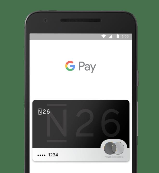 N26 en Google Pay
