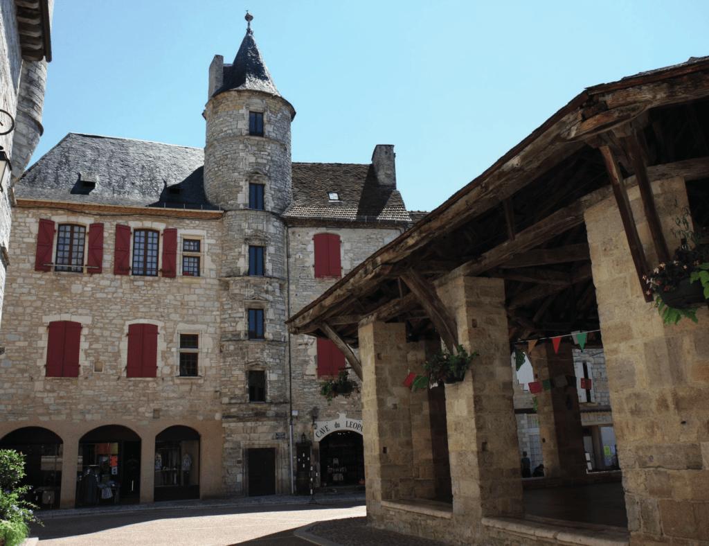 Saint Cirq Lapopie - Figeac: Martel