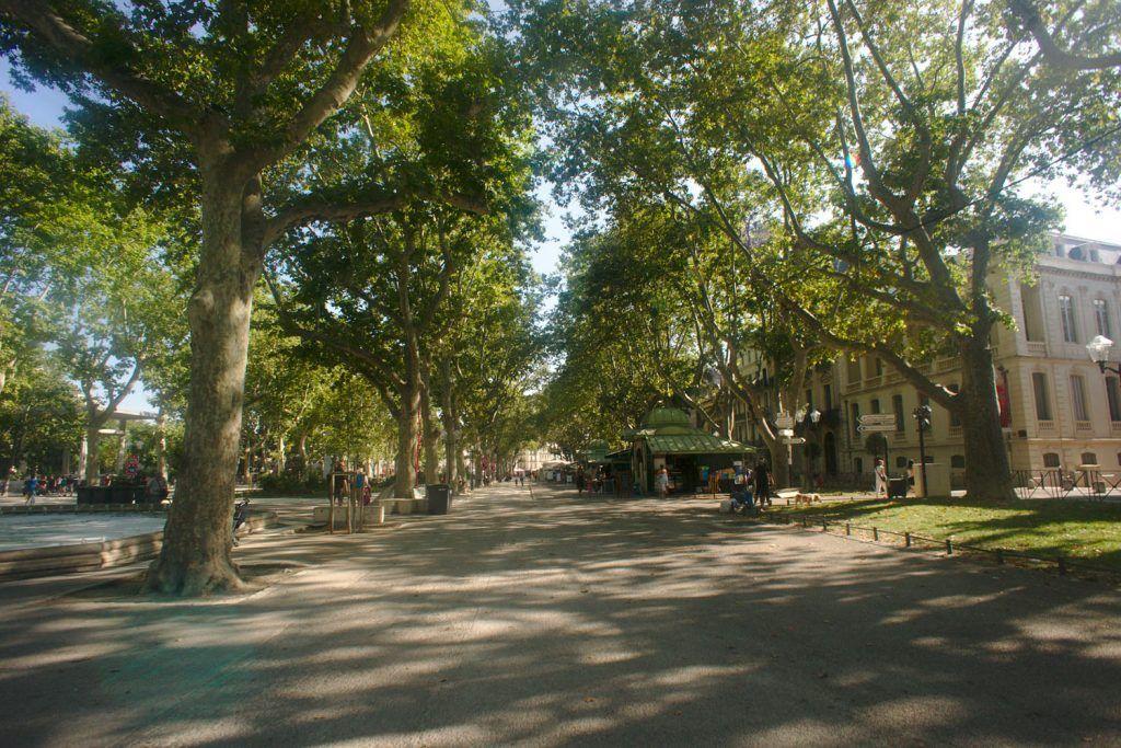 Qué ver en Montpellier: Esplanada Charles de Gaulle