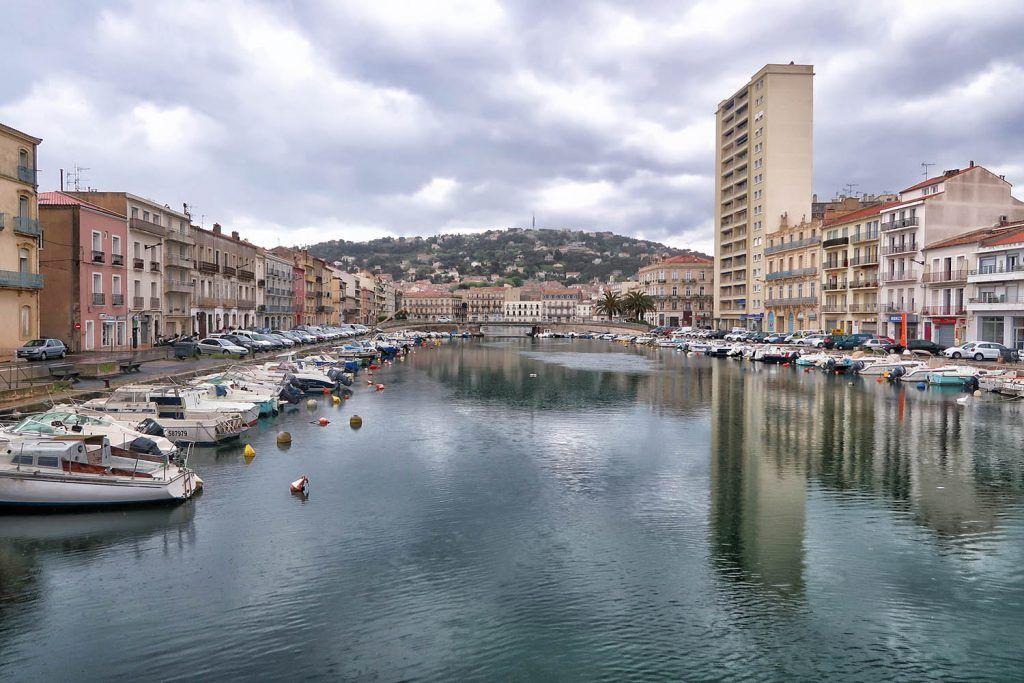 Montpellier - Perpiñán: Sète