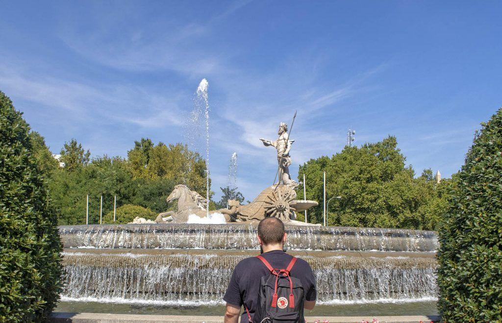 Qué ver en Madrid: Fuente de Neptuno