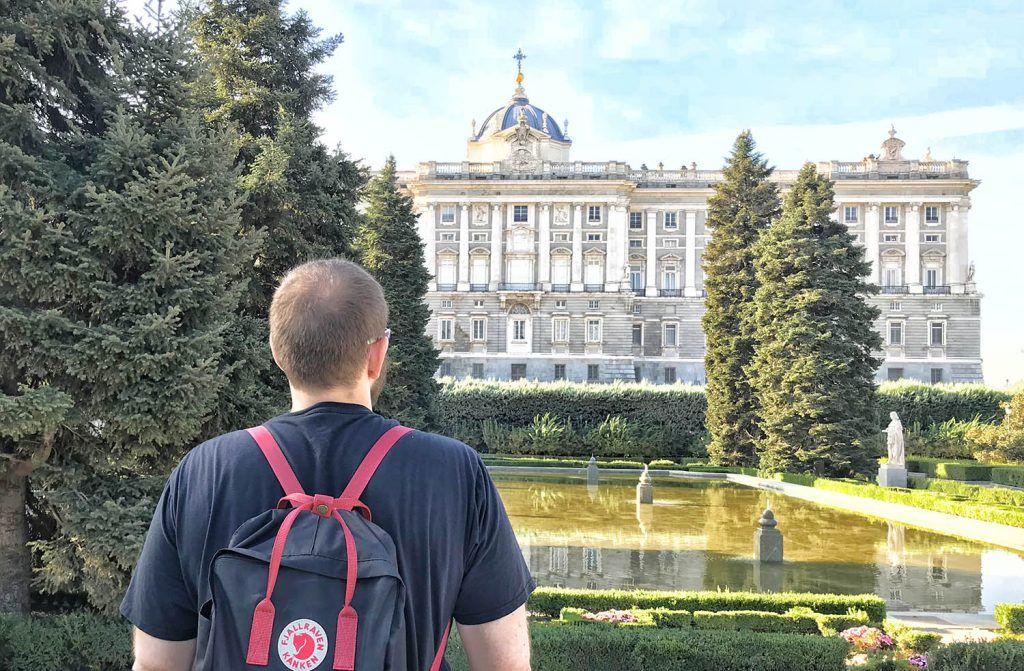 Qué ver en Madrid: Jardines de Sabatini