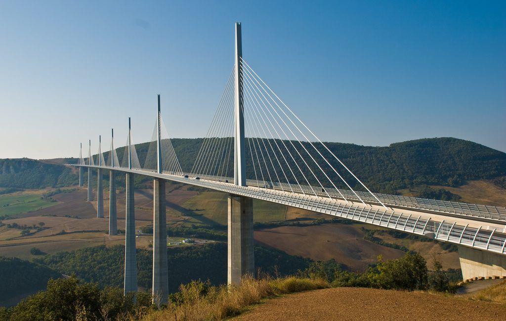Figeac - Montpellier: Viaducto de Millau