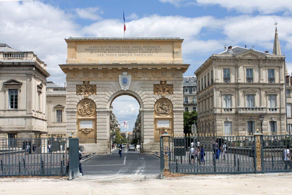 Qué ver en Montpellier: Arco del Triunfo
