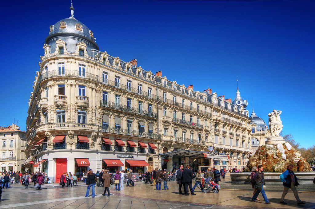 Place de la Comedie - Qué ver en Montpellier