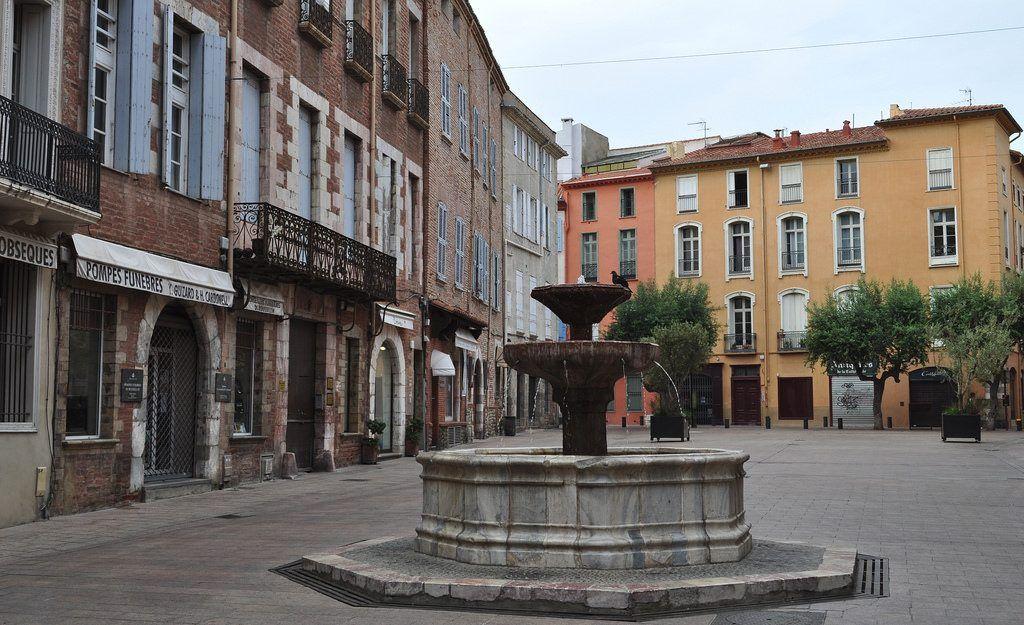 Qué ver en Perpignan: Place Lèon Gambetta
