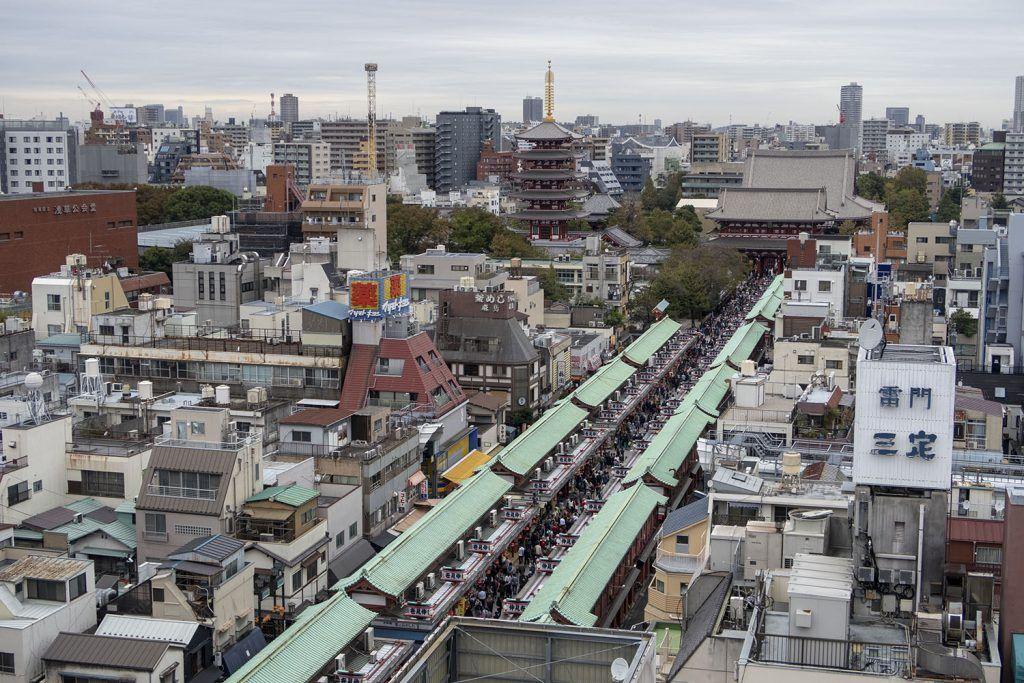 Qué ver en Tokio: Asakusa - Miradores de Tokio
