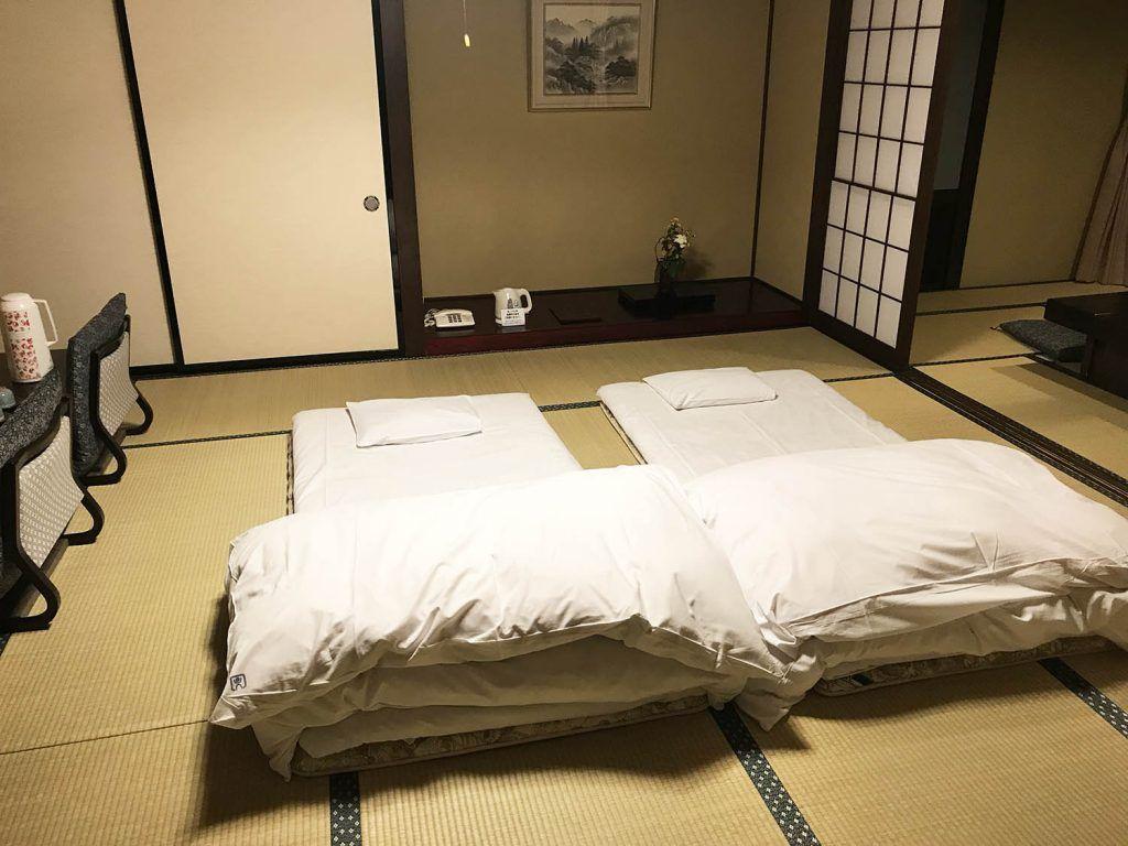 Guía de Japón: Dónde dormir en Japón