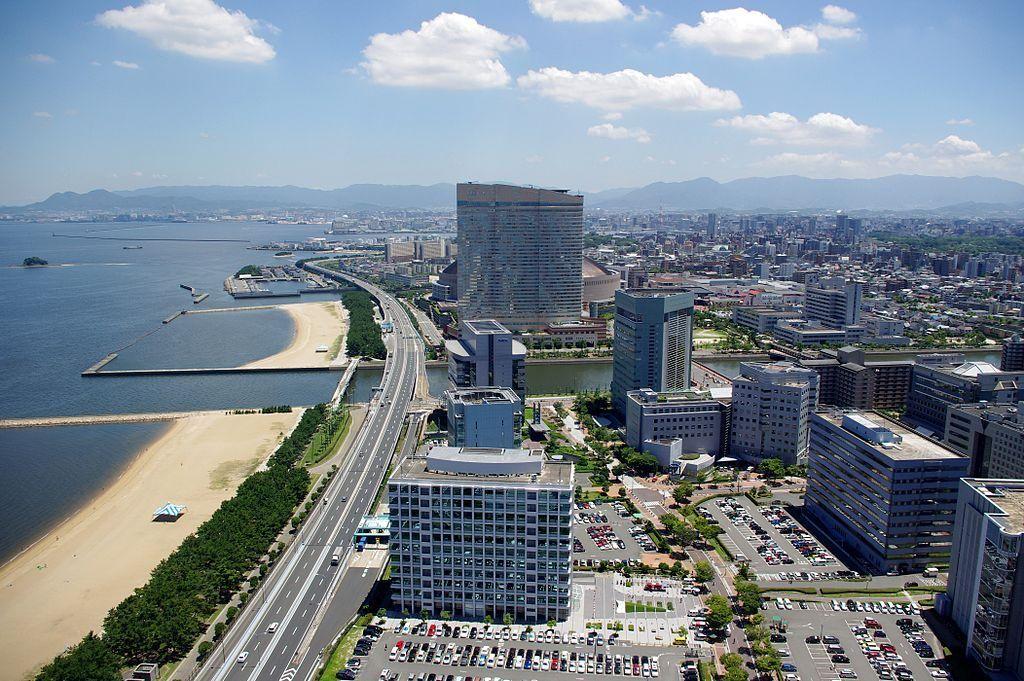 Mapa de Japón: Fukuoka. Fuente: Wikimedia Commons