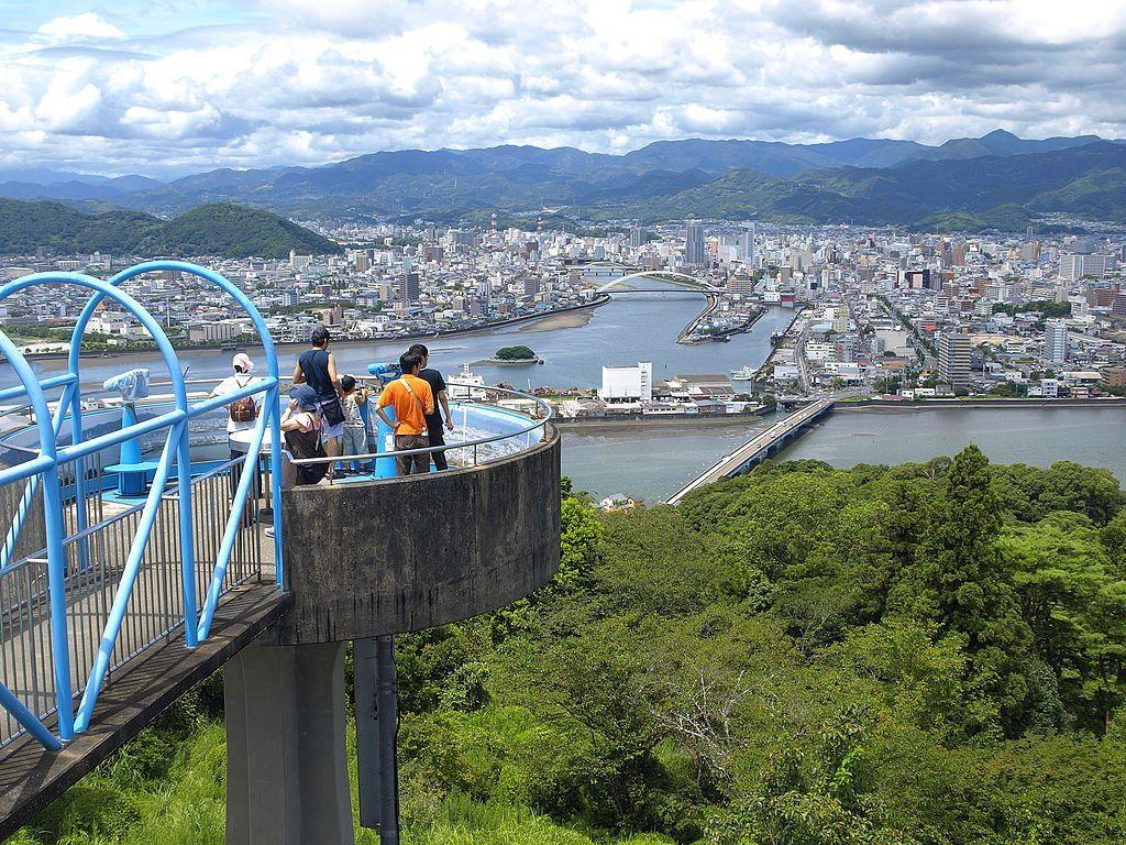 Mapa de Japón: Kochi. Fuente: Wikimedia Commons
