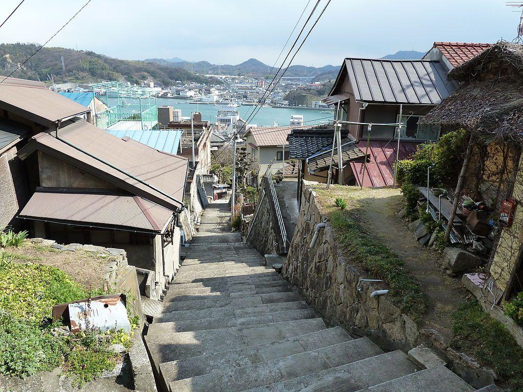 Mapa de Japón: Onomichi. Fuente: Wikimedia Commons
