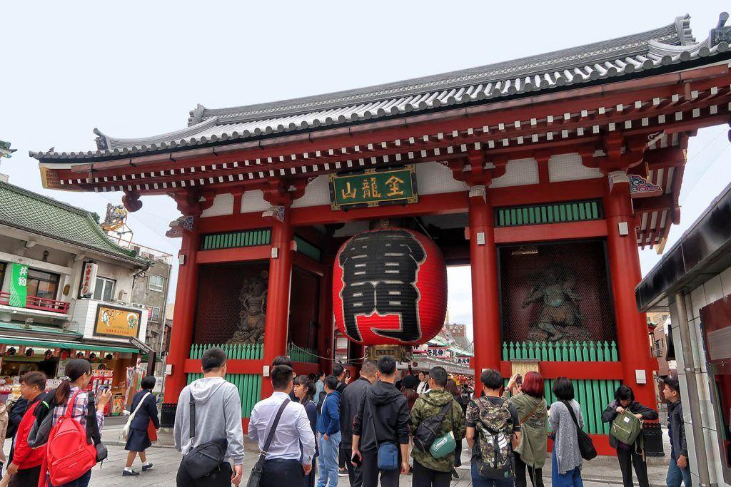 Qué ver en Asakusa: Templo Senso-ji