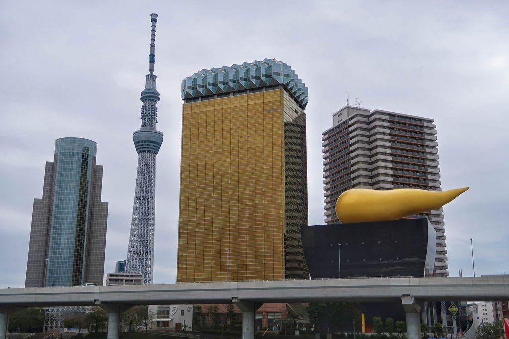 Qué ver en Asakusa: Asahi Beer Hall