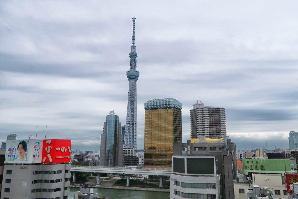 Qué ver en Asakusa: Vistas desde el centro de cultura y turismo de Asakusa