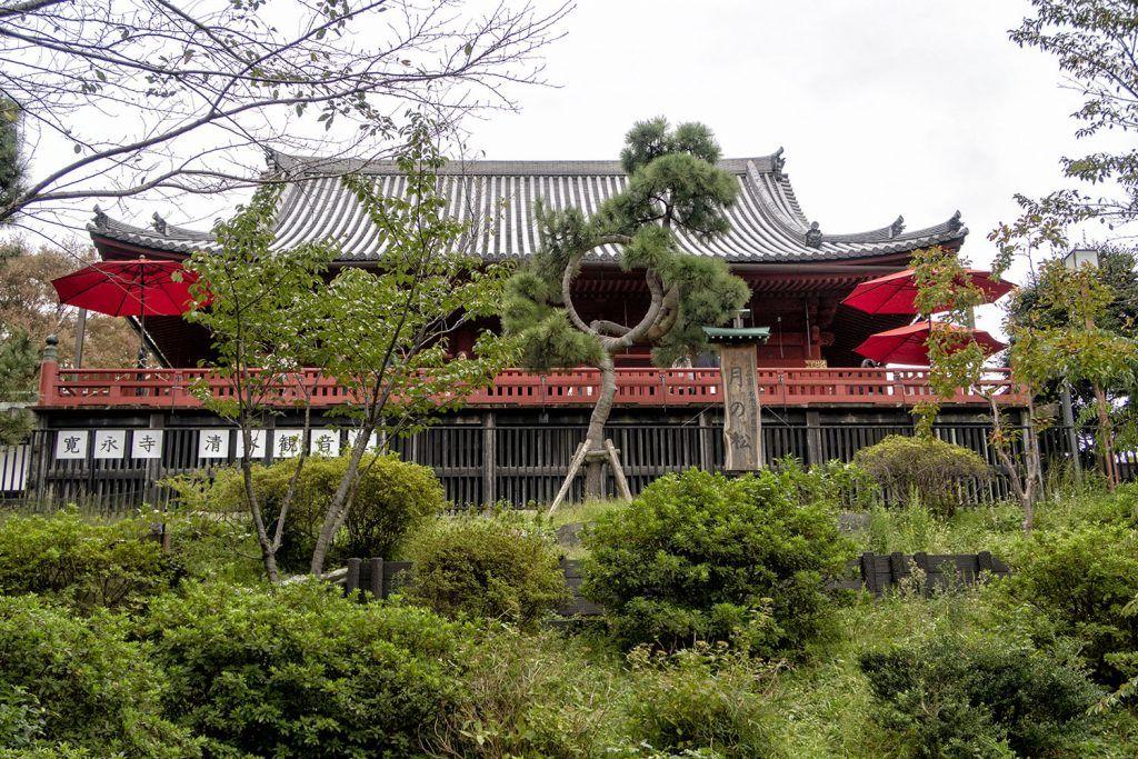 Que ver y hacer en Ueno: Kiyomizu Kannon-do