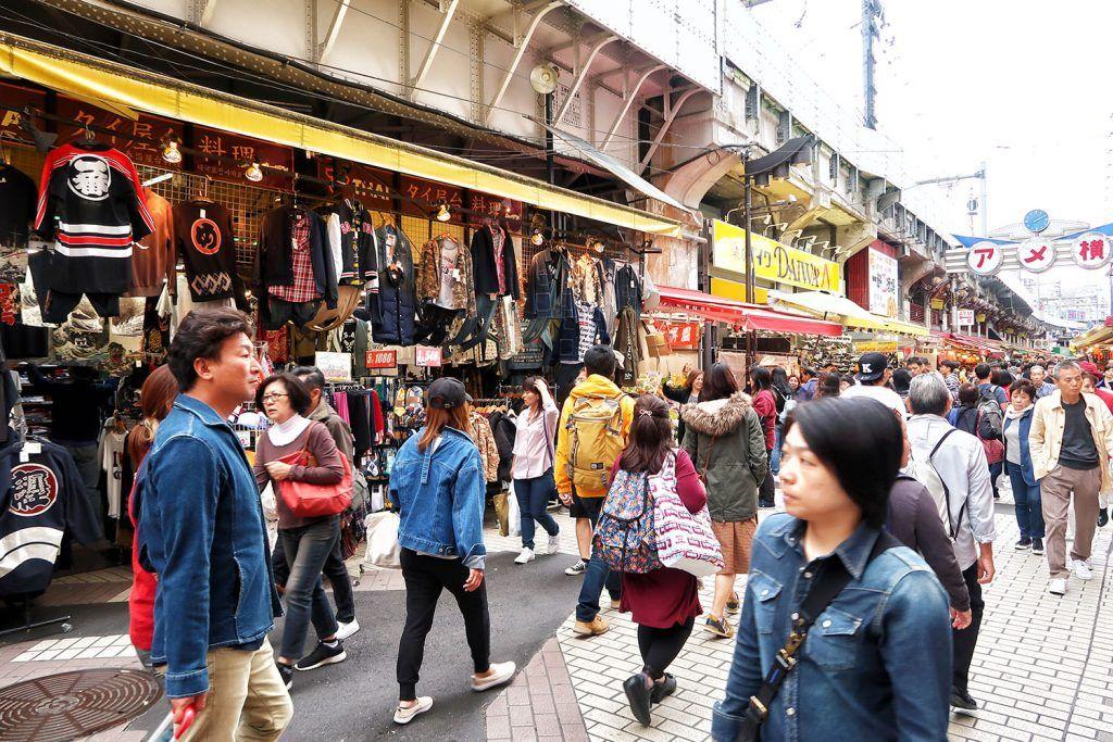 Que ver y hacer en Ueno: Mercado de Ameyoko
