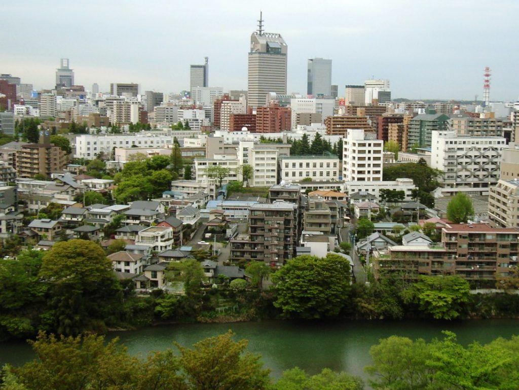 Mapa de Japón: Sendai. Fuente: Wikimedia Commons