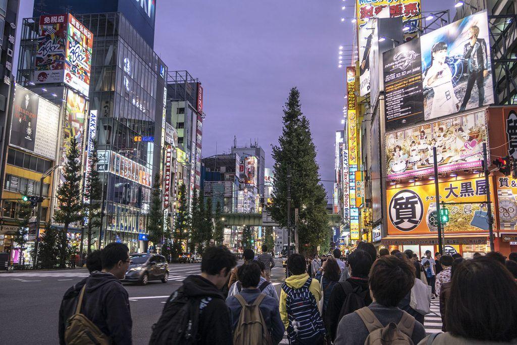 Qué ver y hacer en Akihabara: Akihabara de noche
