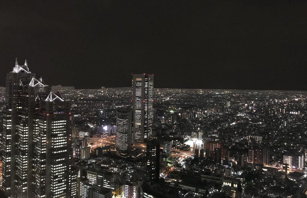 Qué ver en Shinjuku: Tocho - Miradores de Tokio