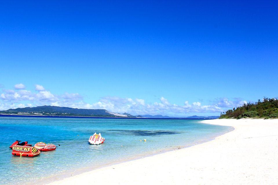 Mapa de Japón: Okinawa. Fuente: Pixabay